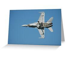 RAAF Hornet @ Amberley Airshow, Australia 2008 Greeting Card