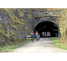 Cressbrook Tunnel on the Monsal Trail Photographic Print