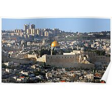 Jerusalem: Old & New Poster