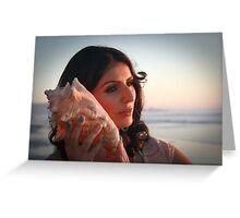 Hear The Ocean Greeting Card
