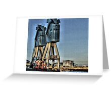 transformers robots in disguise Greeting Card