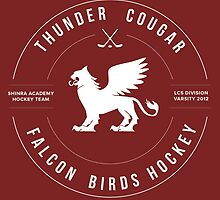 Thunder Cougar Falcon Birds Hockey by spacesmuggler