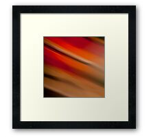 Colorful abstract light rays Framed Print