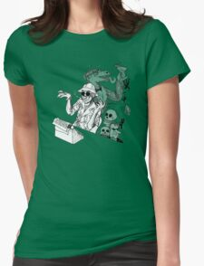HS Thompson writing Womens Fitted T-Shirt