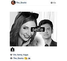 selfie Photographic Print