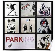 BANKSY MONTAGE 01 Poster