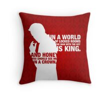 Jim Moriarty Throw Pillow
