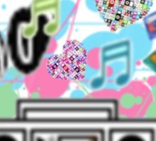 Music=Life Sticker