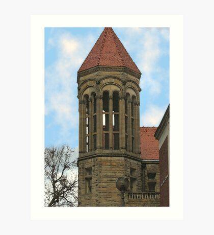 Tower -West Virginia University Art Print