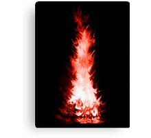 Fire Spikes 3 Canvas Print