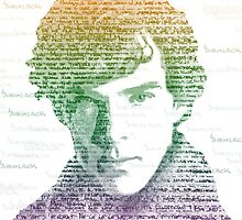 Sherlock Quote Rainbow by kellandria