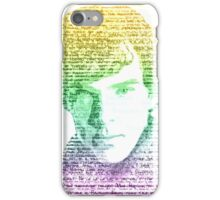 Sherlock Quote Rainbow iPhone Case/Skin