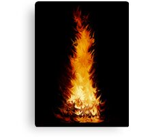 Fire Spikes 1 Canvas Print