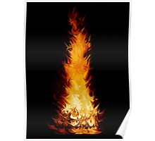 Fire Spikes 1 Poster