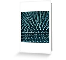 Abstract light rays Greeting Card