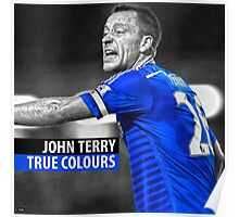 JOHN TERRY TRUE COLOURS  Poster