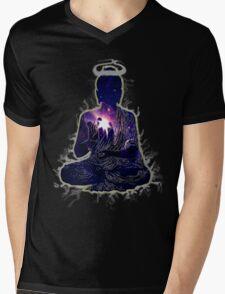 Buddha - Touching The Sky Mens V-Neck T-Shirt
