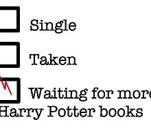 Harry Potter Books Relationship Status by theeella