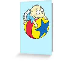 Tommy Pickles from The Rugrats Greeting Card
