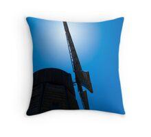 Old Windmill Nova Scotia Throw Pillow
