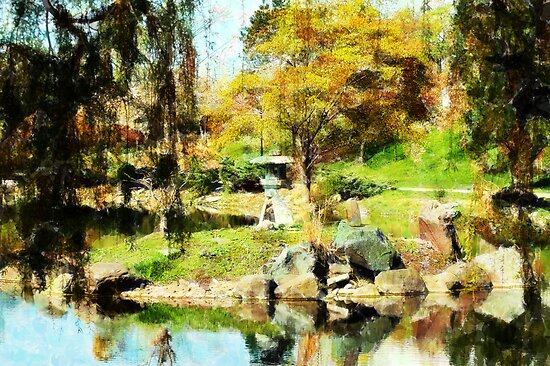 Japanese Gardens by Kathleen Struckle