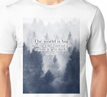 """The World is Big"" Travel Quote Unisex T-Shirt"