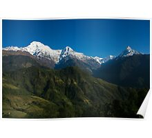 Annapurna Morning Glory Poster