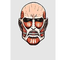 Colossal Titan (head) Photographic Print