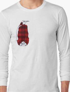 Tartan Penguin Long Sleeve T-Shirt