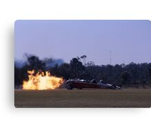 Flaming Dragster @ Caboolture Airshow 2004 Canvas Print