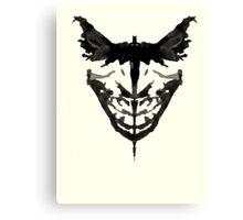 Batman Chronicle Canvas Print
