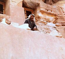 bedouin in Petra by cometkatt