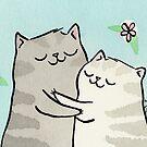 Kitty Cat Hug by zoel