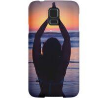 Yoga at the Beach Samsung Galaxy Case/Skin