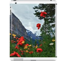Peaks and Poppies iPad Case/Skin