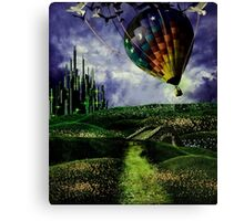 Leaving Oz Canvas Print