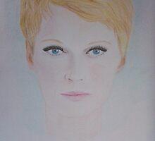Mia Farrow by Nivine