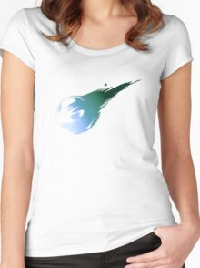 Final Fantasy 7 logo VII Women's Fitted Scoop T-Shirt