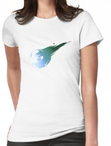 Final Fantasy 7 logo VII Womens Fitted T-Shirt