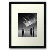 Forgotten Wharf Framed Print