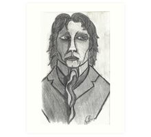 THE DISTINGUISED COMPOSER Art Print