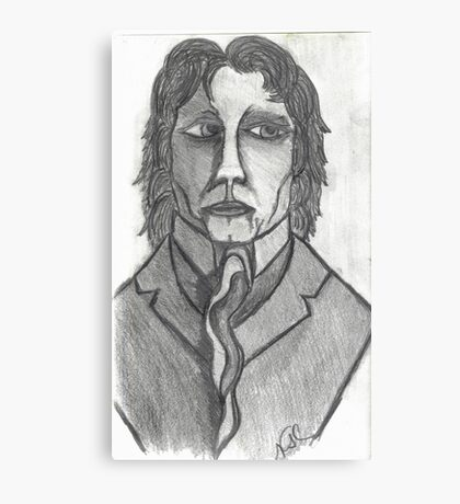 THE DISTINGUISED COMPOSER Canvas Print