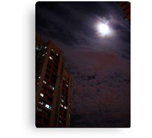 Moonwatch (print) Canvas Print