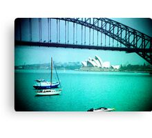 The view from Tony's place Canvas Print