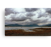 Accross the Loch Canvas Print