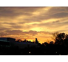 Sunset In The City Photographic Print