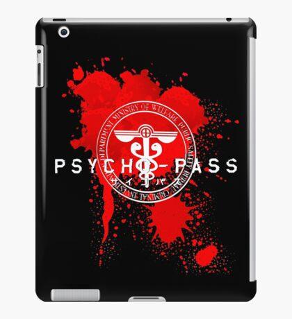 Psycho-Pass Logo iPad Case/Skin