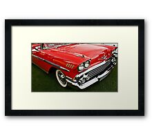 1958 Chevy Impala Framed Print