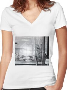 Reality considered as whatever Women's Fitted V-Neck T-Shirt