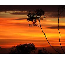 Painted Sky.. Photographic Print